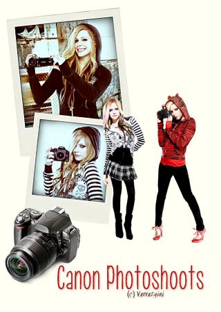 Avril et sa collaboration avec l'entreprise Canon
