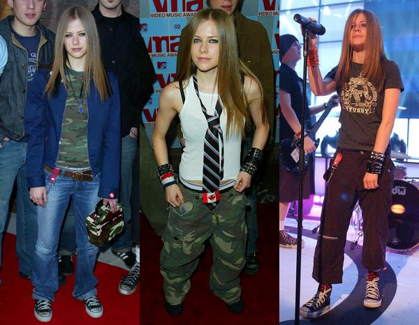 Avril au fil des années - partie 1 : années 2002 à 2007