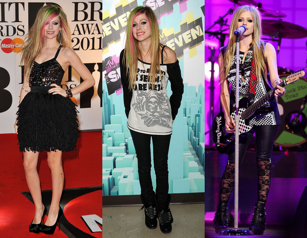 Avril au fil des années - partie 2 : années 2008 à 2013