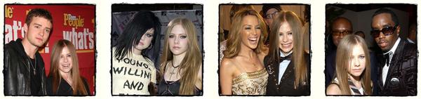 Avril et les autres stars