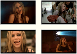 "Ses clips # partie 2 ""Under My Skin"""