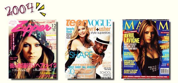 Couvertures de magazines # partie 1 : de 2002 à 2004