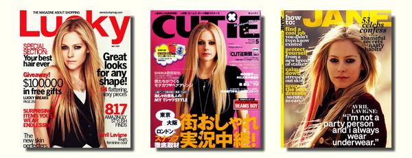 Couvertures de magazines # partie 2 : de 2005 à 2007