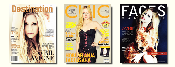 Couvertures de magazines # partie 4 : de 2012 à 2013