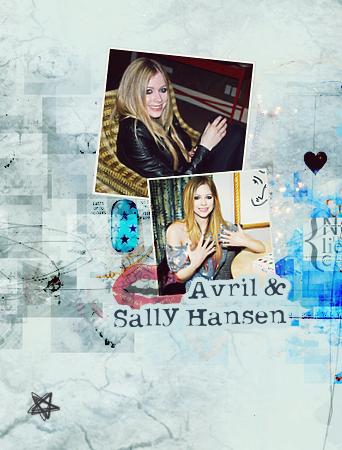 Avril et sa collaboration avec la marque Sally Hansen