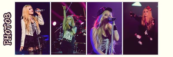 """Ses tournées # numéro 5 """"The Avril Lavigne Tour"""""""