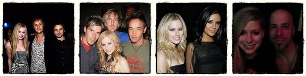 Avril et les autres stars (suite)