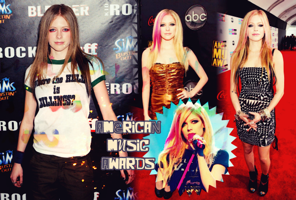 Avril aux American Music Awards