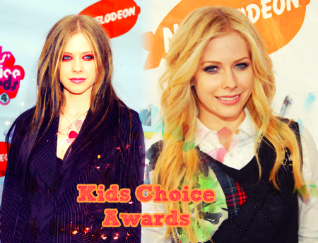 Avril aux Kids Choice Awards