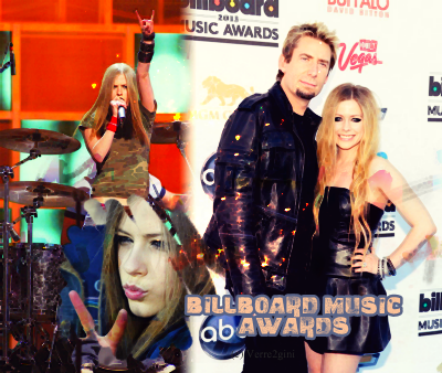 Avril aux Billboard Music Awards