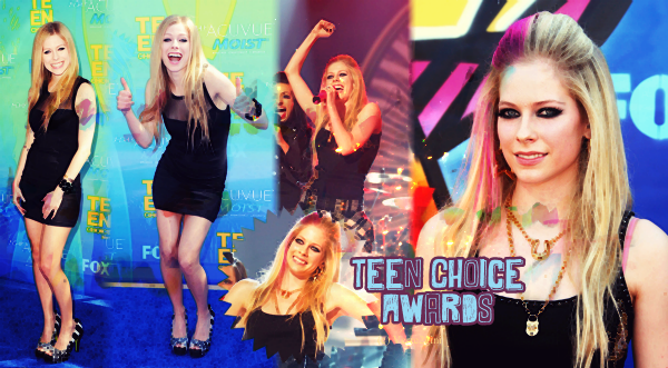 Avril aux Teen Choice Awards