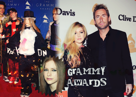 Avril aux Grammy Awards