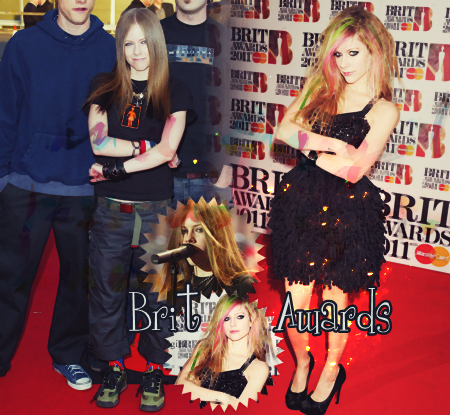 Avril aux Brit Awards