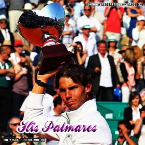 // His Palmarès