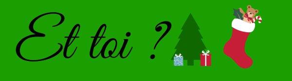 Noël approche a grand pas .. Ma liste est faite , et vous ? ♫