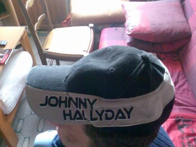 casquette de johnny hallyday blog de johnnyetlaetitia. Black Bedroom Furniture Sets. Home Design Ideas