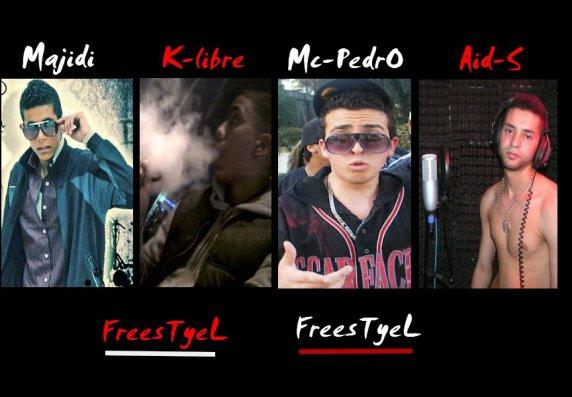 Majidi feat k-libre feat Mc-pedro & Aid-S  -- FresstyeL   (2011)