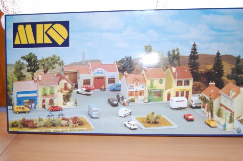village francais a l'échelle 1/87