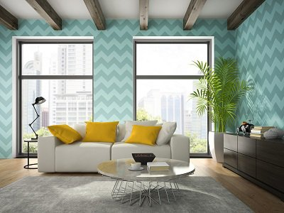Revamping the Look of Your Home with Motorized Shades and Wallpaper
