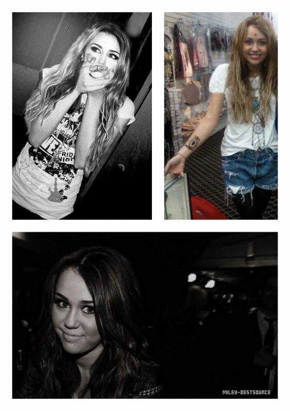 • Nouvelles photos personnelles de Miley •