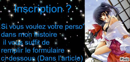Inscription ^^