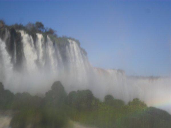 Cascades do Iguaçu dans la ville de  Foz do Iguaçu Mon travail...