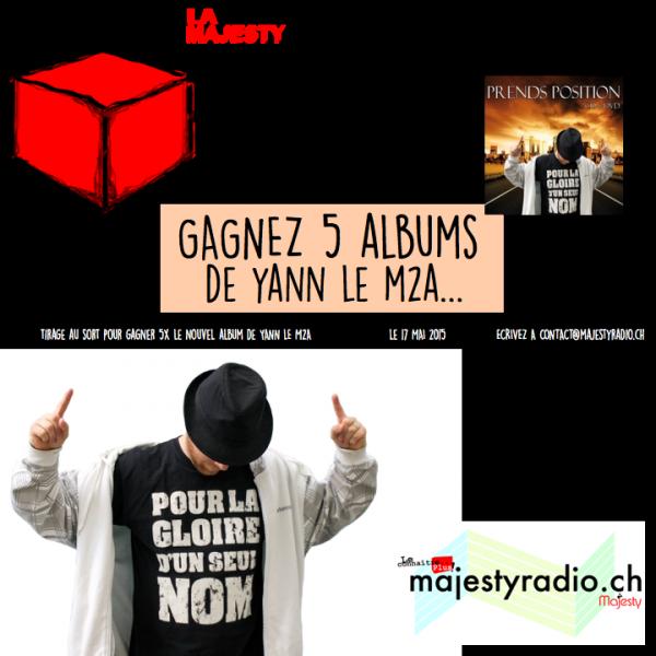 Gagnez 5x mon album