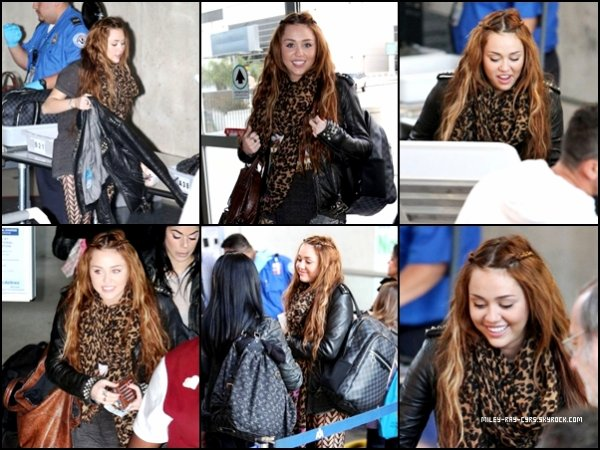 ◊ Miley & Noah allant chez Coffee Bean le 5 avril 2011 + Miley a l'aéroport de Los Angeles le 7 avril 2011 direction Chicago ! 8.04.11 : Retour a Los Angeles, et nous retrouvons une Miley toute fatigué ! & 2 nouvelles photos de Miley en répétition pour le GYPSY HEART TOUR