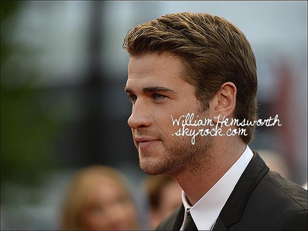 18 mai 2013 : Liam Hemsworth a été à la 65 ème cérémonie du festival de Cannes.