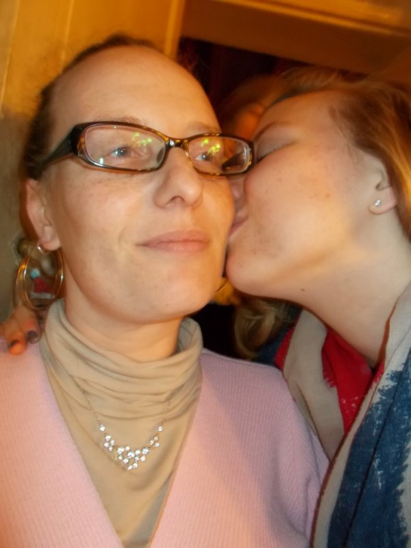 moi et ma mere <3