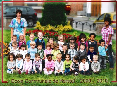 1ere photo de classe prise en mai 2010