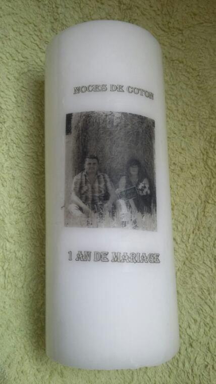 Teste photo bougies
