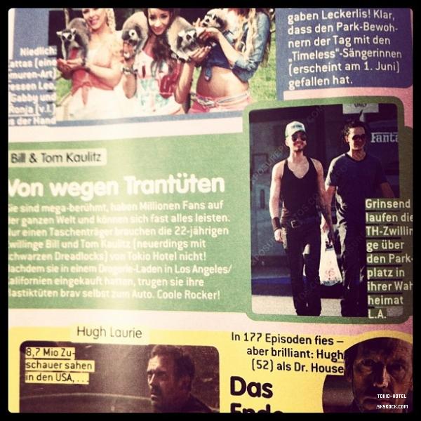 Article de BRAVO #22/2012 (Allemagne)