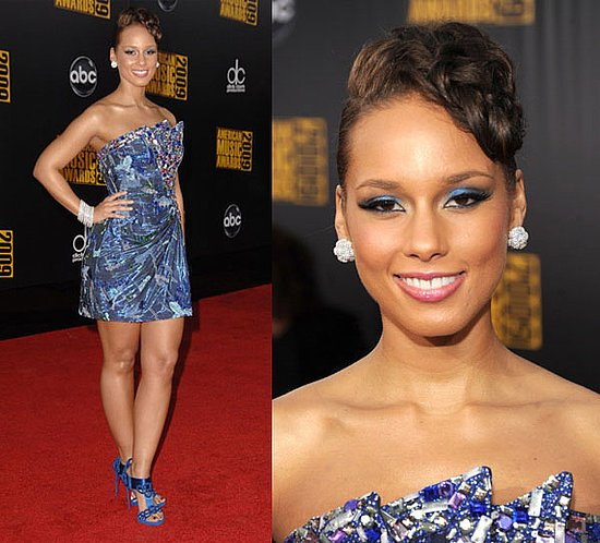 Vetement d'Alicia Keys