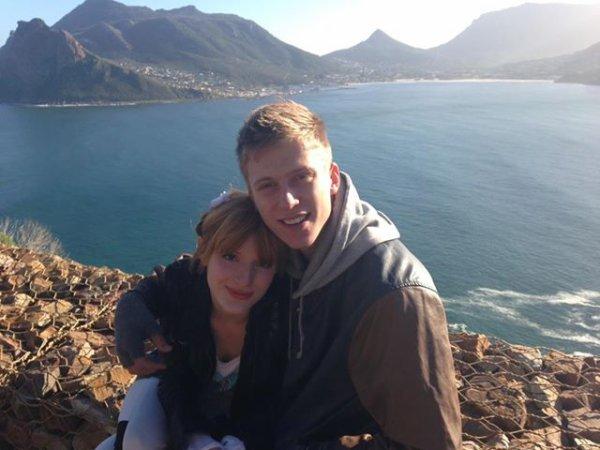 Photos de Bella et Tristan à Cap Town le 9 juin 2013.