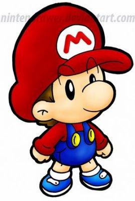 Bébé Mario Mario Bros