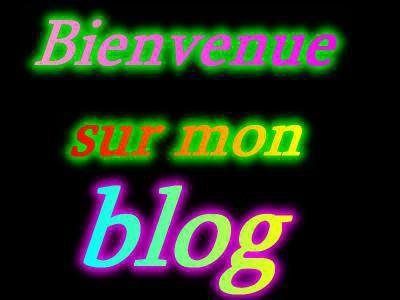 Bienvenue sur mon blogs....