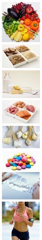 Alimentation équilibrée en pratique...