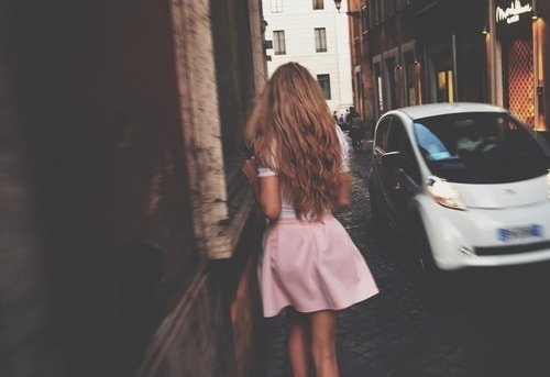 « I am just a small girl in a big world trying to find someone to love. » - M.M