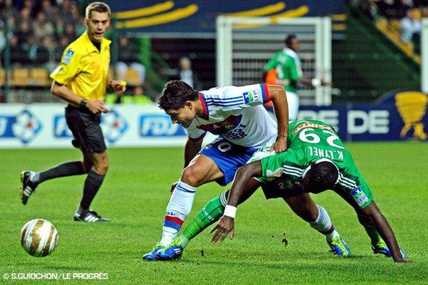 St Etienne 1-2 OL