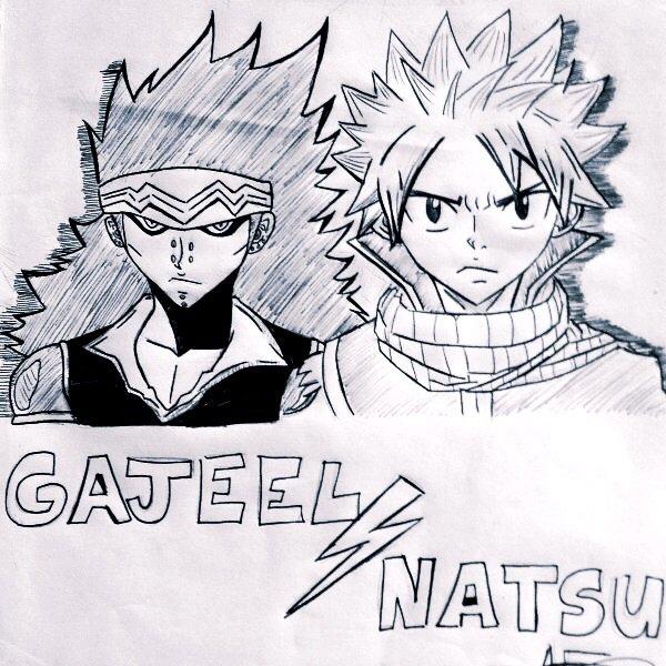 Natsu et Gajeel