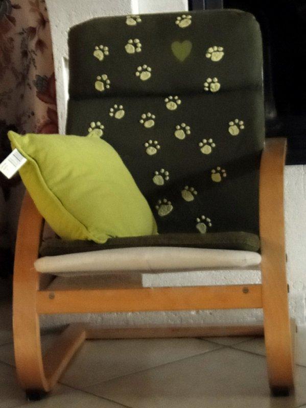 un fauteuil pour Liam