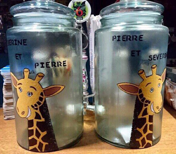 bocaux en verre pour un camping où il vaut mieux éviter d'aller : les propriétaires sont des escrocs!!!!