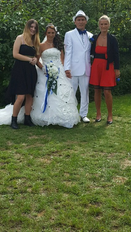 Ma fille les marié et moi