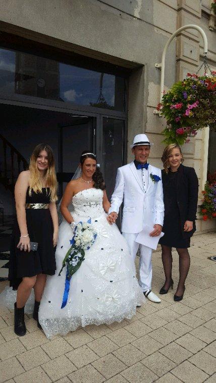 Les marié et mes 2 filles