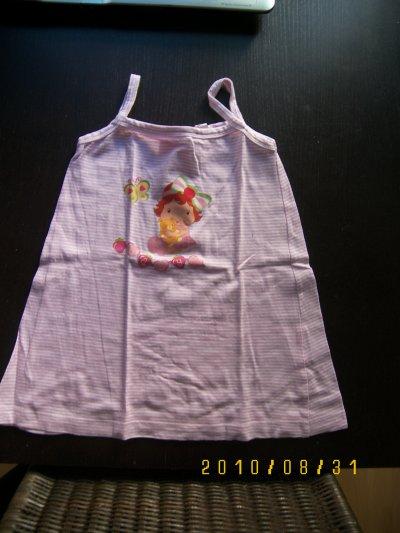 robe charlotte aux fraises 24 mois