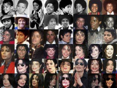 Evolution Physique de Michael Jackson !