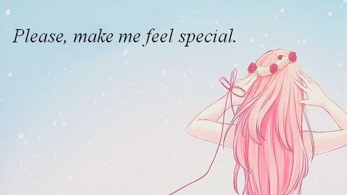 Chapitre 1 Saison 2 : Please, make me feel special.