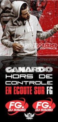 """Canardo """"Hors de controle"""" remix sur Radio FG"""