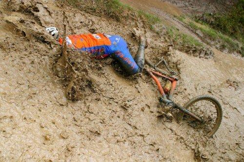 """Sortie VTT le dimanche matin: """"La boue ? Même pas peur !"""""""
